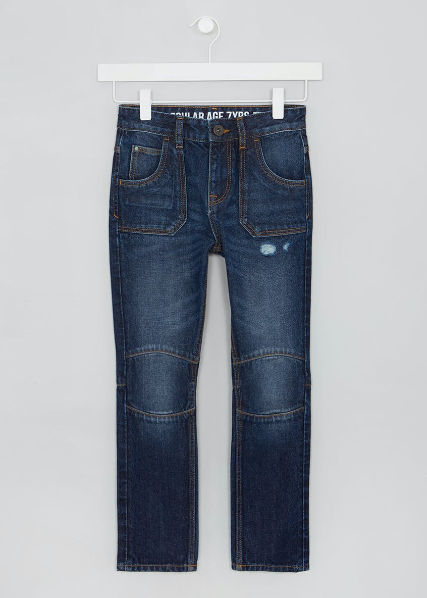 Boys Worker Jeans (4-13yrs)