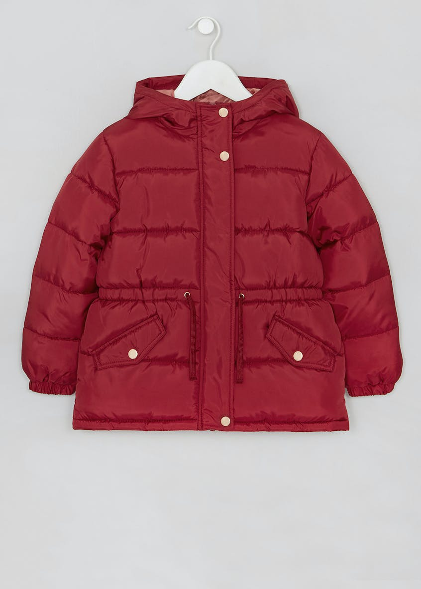 Girls Hooded Padded Coat (4-11yrs)