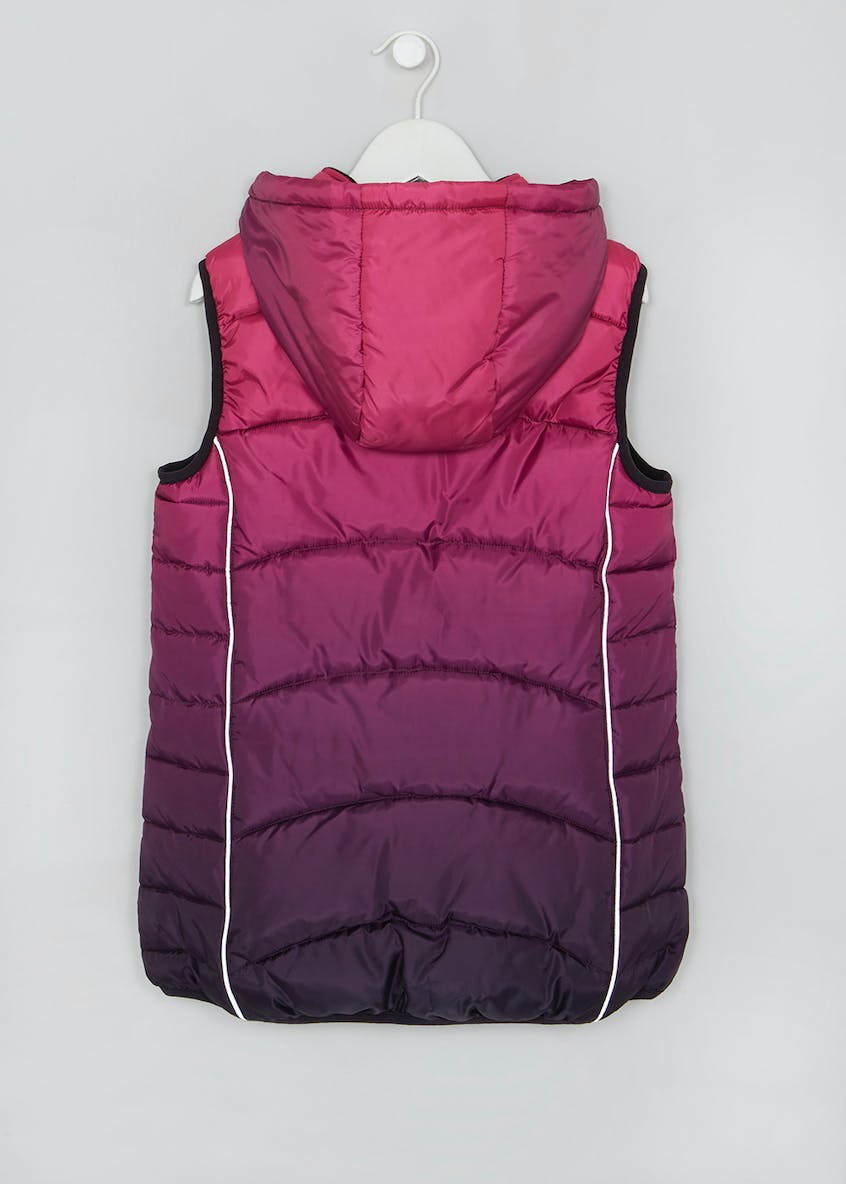 Girls Souluxe Ombre Sports Gilet (8-13yrs)
