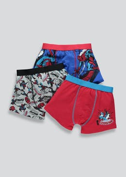 Boys 3 Pack Spider-Man Trunks (2-9yrs)