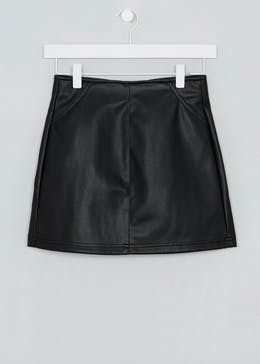 Girls Candy Couture PU Skater Skirt (9-16yrs)