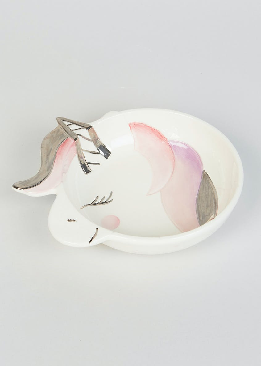 Unicorn Shaped Bowl (15cm)