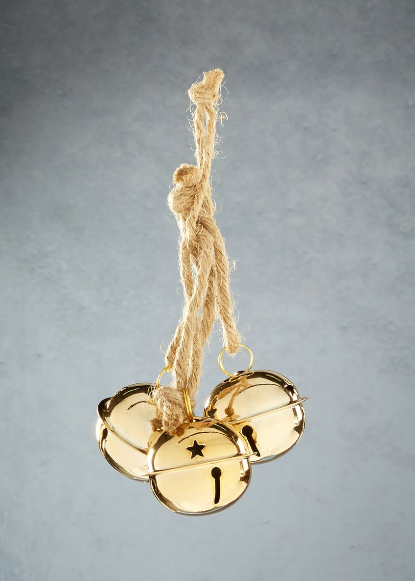 3 Bells Rope Christmas Decoration