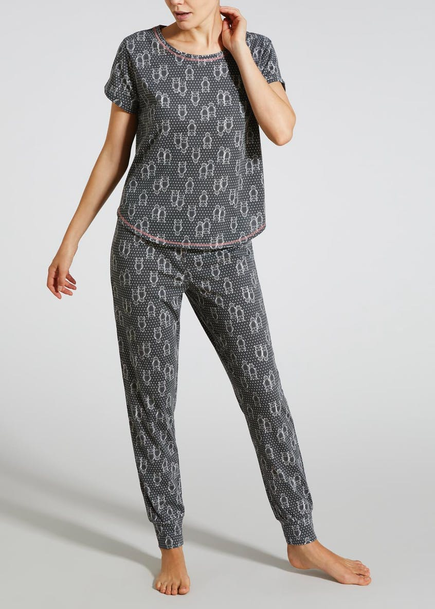 Owl Dot Pyjama Set