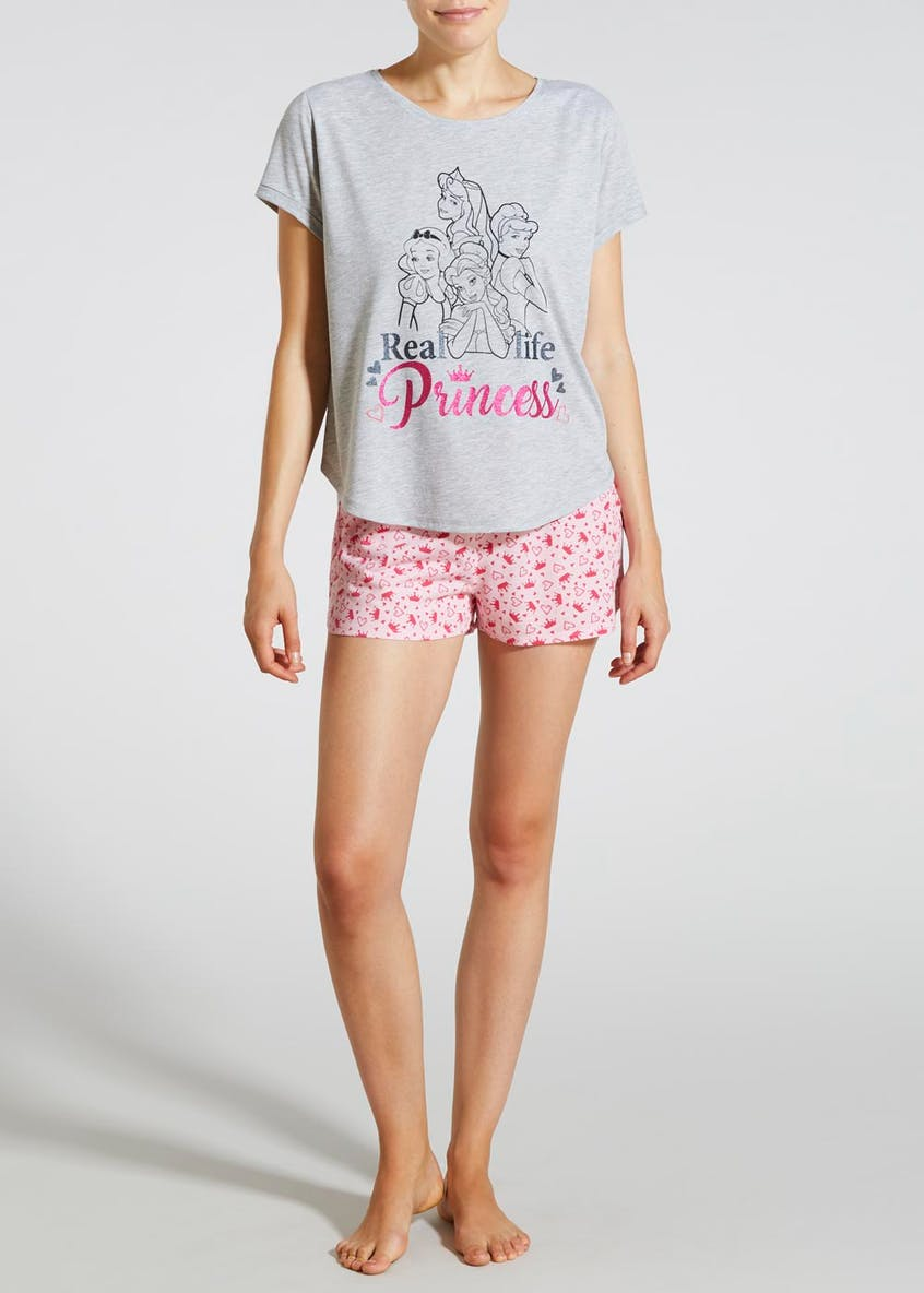 Disney Princess Short Pyjama Set