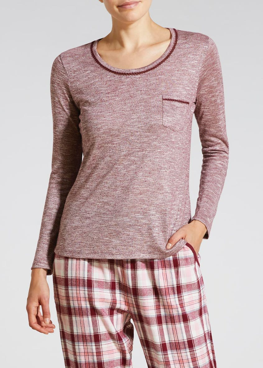 Long Sleeve Pyjama Top