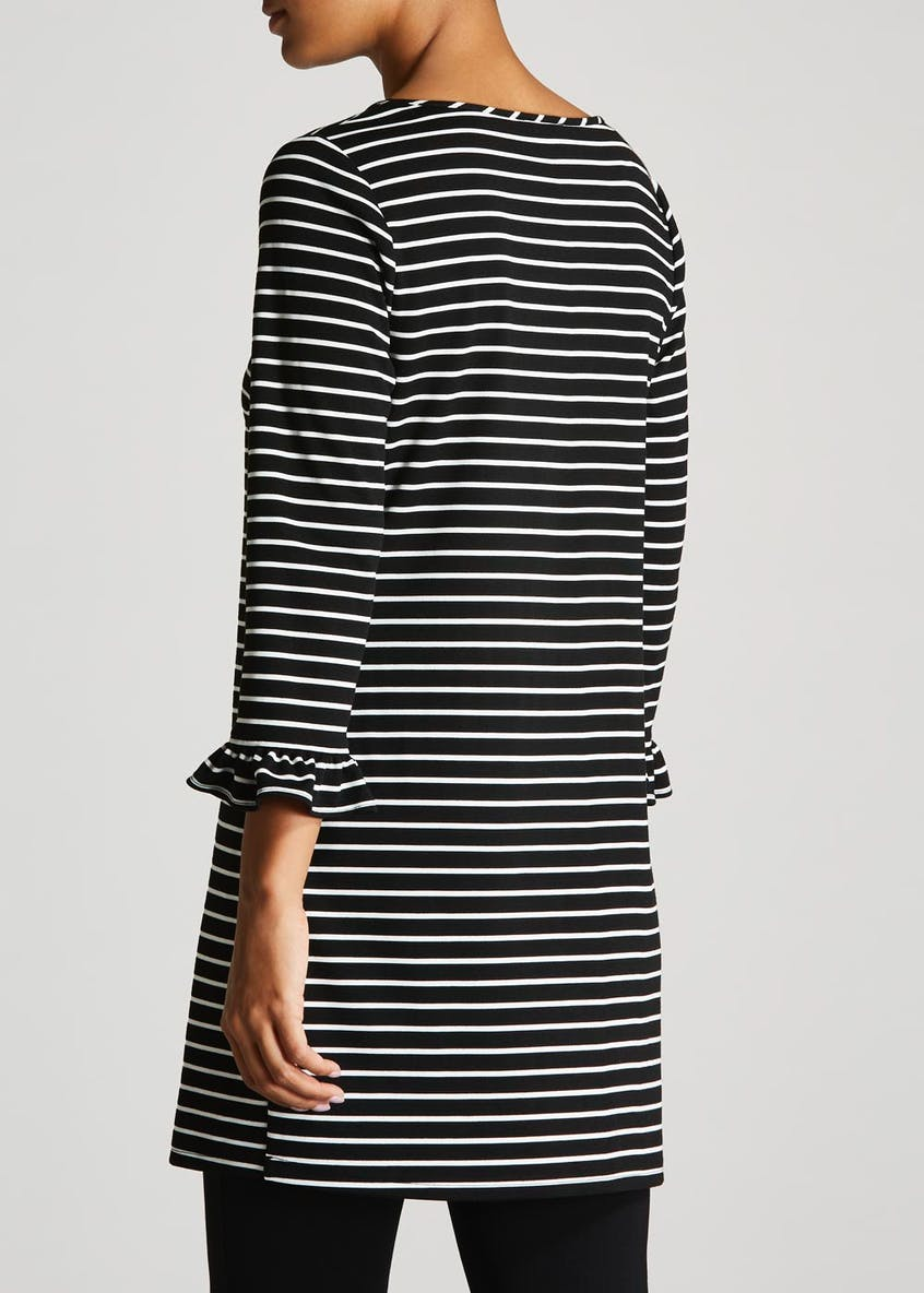 Stripe Formal Tunic