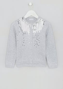 Girls Sequin Cardigan (4-13yrs)