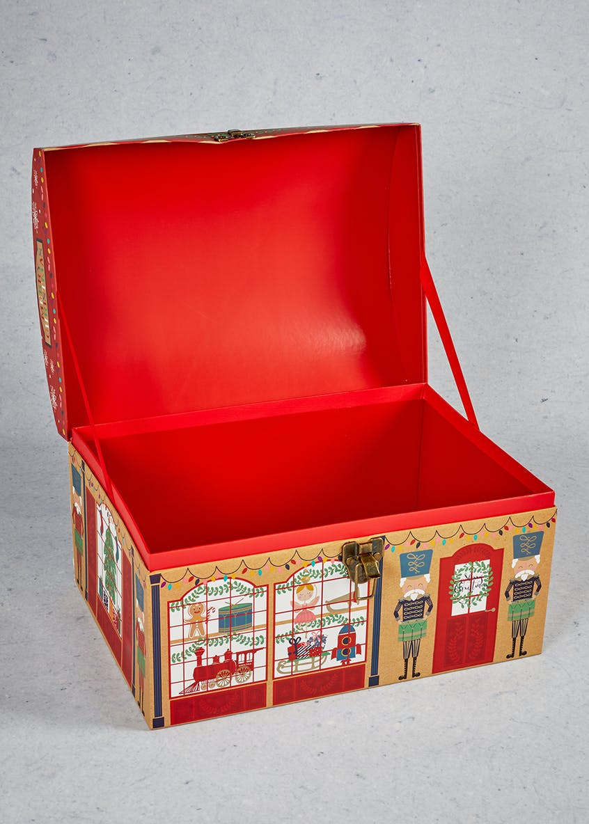 Toy Shop Chest Christmas Gift Box (40cm x 29cm)