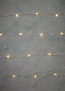 120 Silver Wire Micro LED Lights