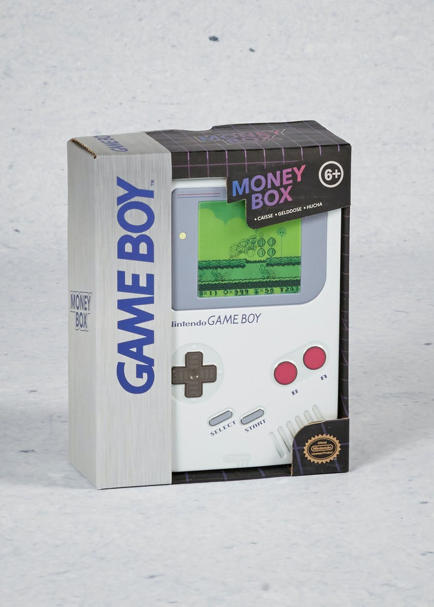 Game Boy Money Tin (16cm x 12cm x 6cm)