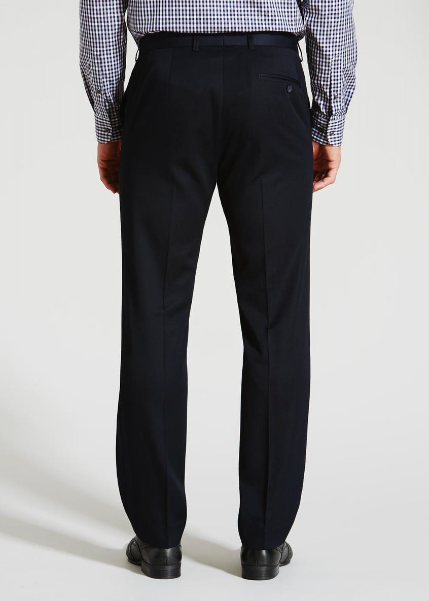 Tailored Fit Flat Front Trouser