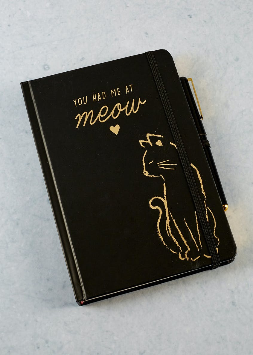 Cat Notebook & Pen Set