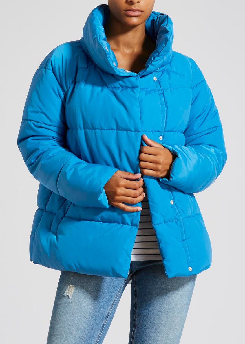 Asymmetric Padded Coat