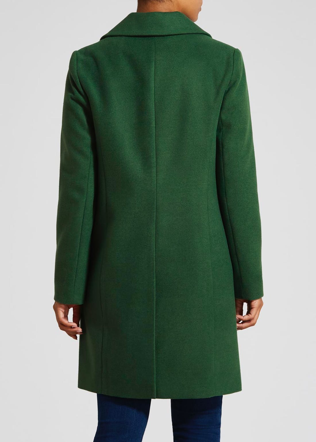 Single Breasted Boyfriend Coat