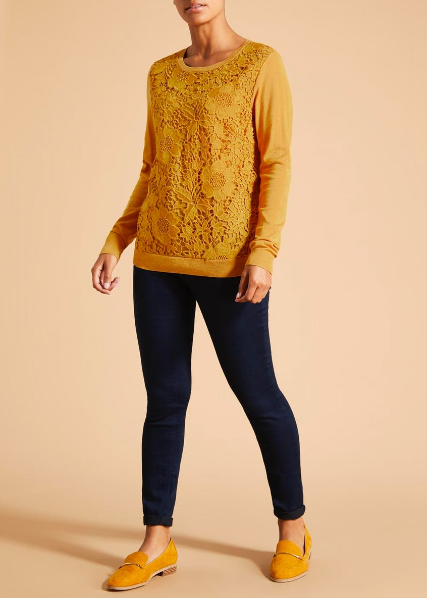 Soon Lace Front Jumper