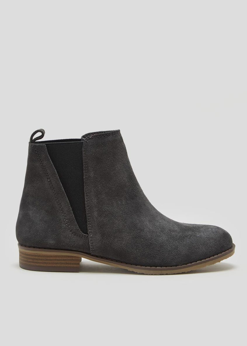 Soleflex Real Suede Chelsea Boots