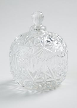 Glass Trinket Jar (33cm x 13cm)