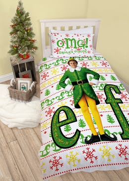 Kids Elf Christmas Bedding Set (Single)