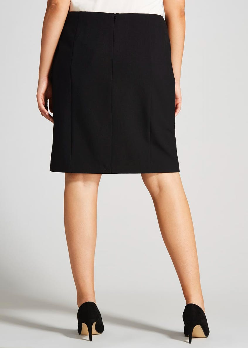 Bi Stretch Formal Skirt