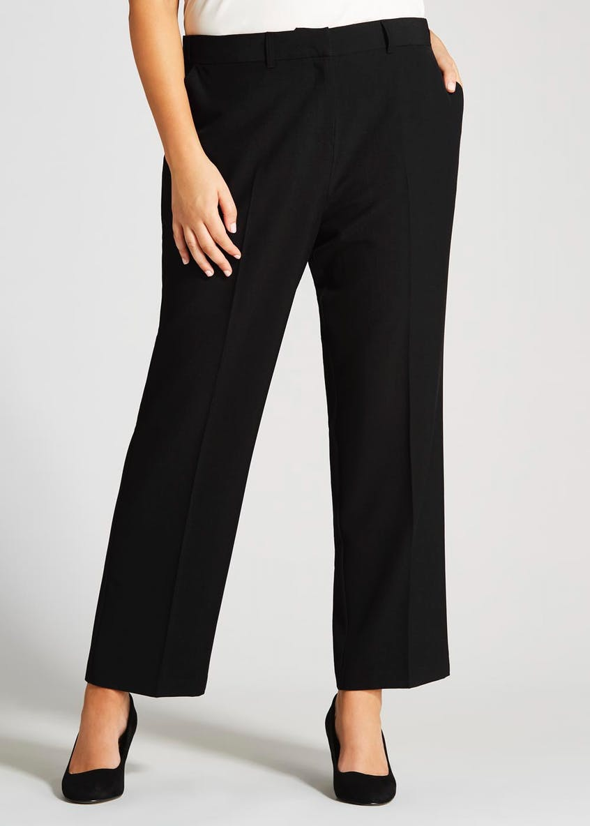 Papaya Curve Formal Trousers