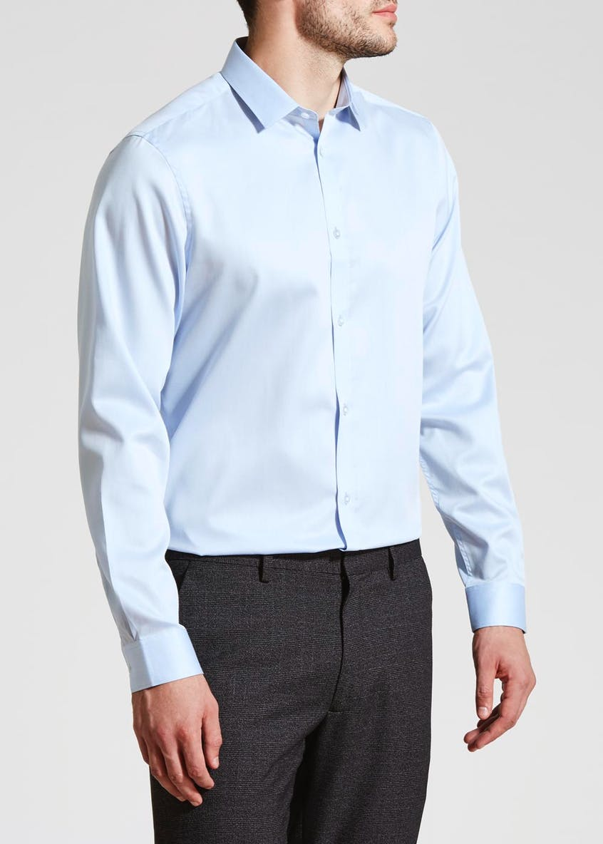Taylor & Wright Easy Iron Slim Fit Long Sleeve Shirt