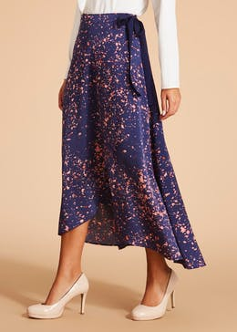FWM Cosmic Print Wrap Skirt