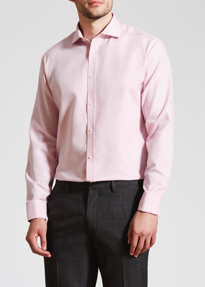 Taylor & Wright Easy Iron Long Sleeve Cotton Premium Shirt
