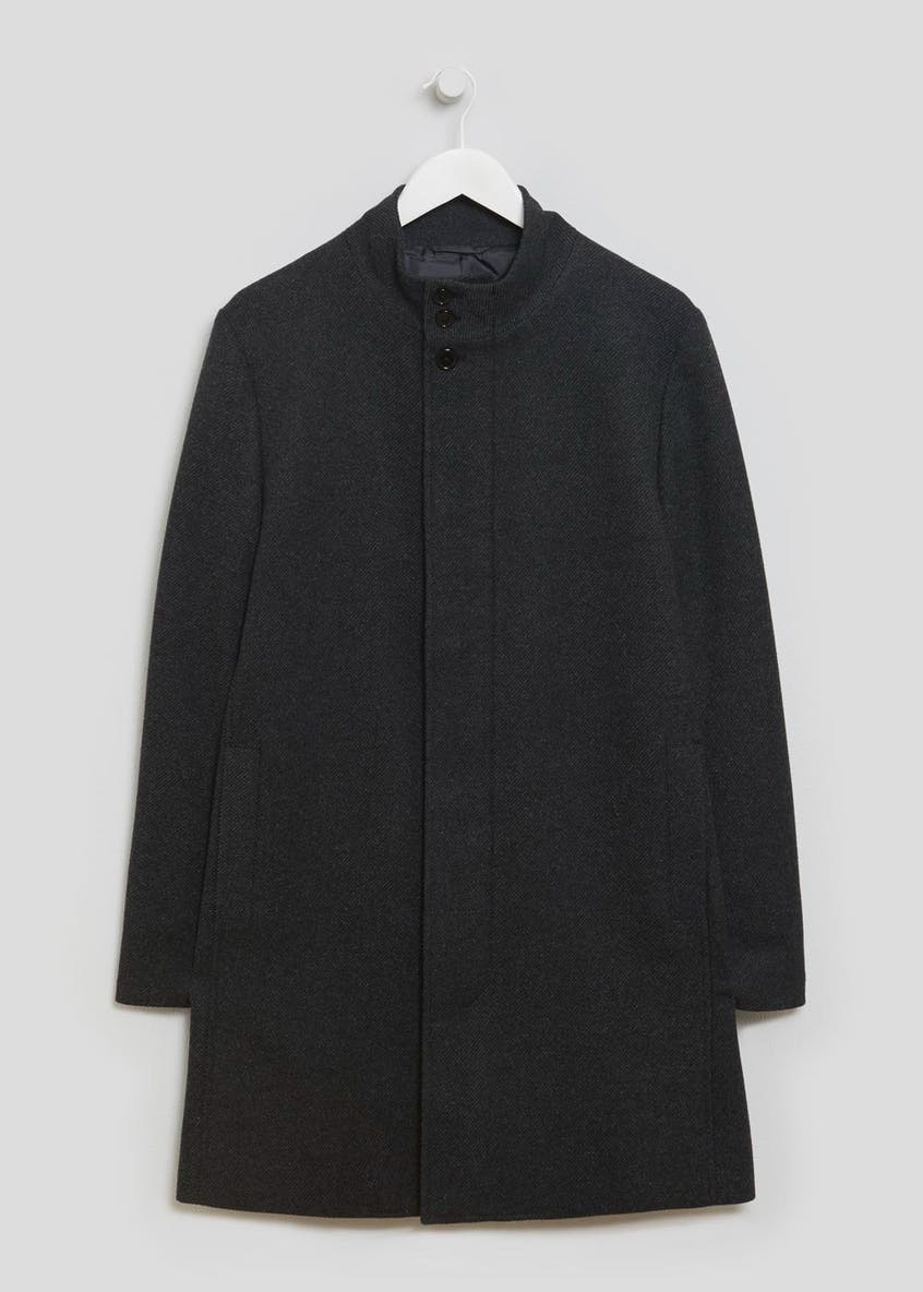 Thomas Funnel Neck Overcoat