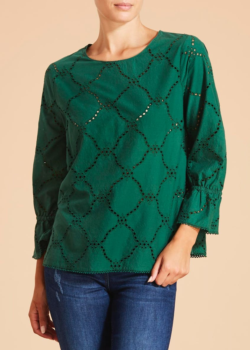 Falmer Schiffley Blouse