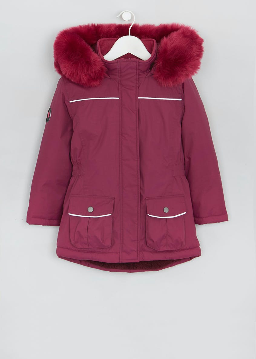 Girls Technical Parka (4-13yrs)