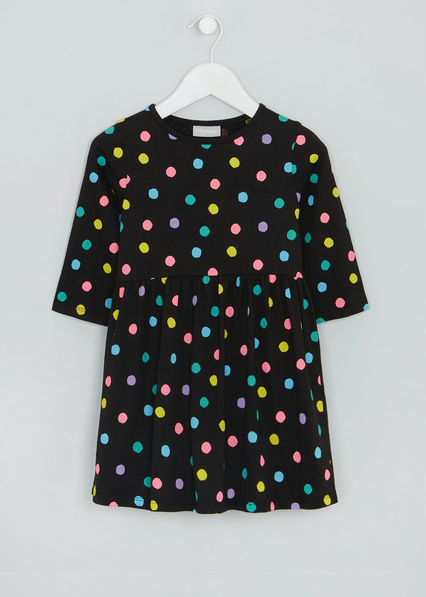 Girls Polka Dot Dress (4-13yrs)