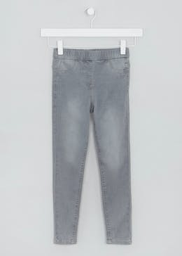 Girls Washed Jeggings (4-13yrs)