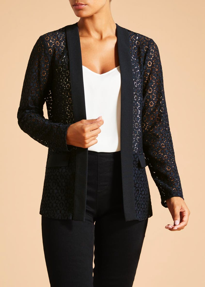 Soon Lace Blazer