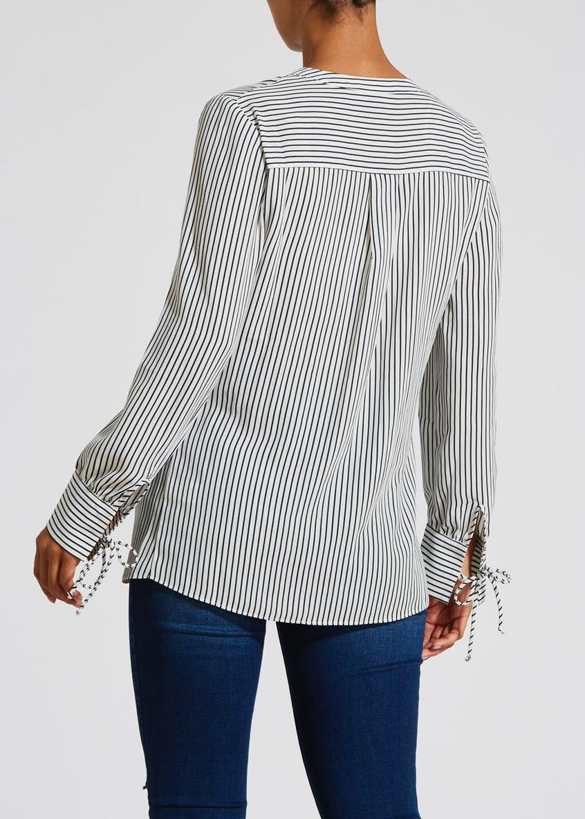 Stripe Cuffed Shirt