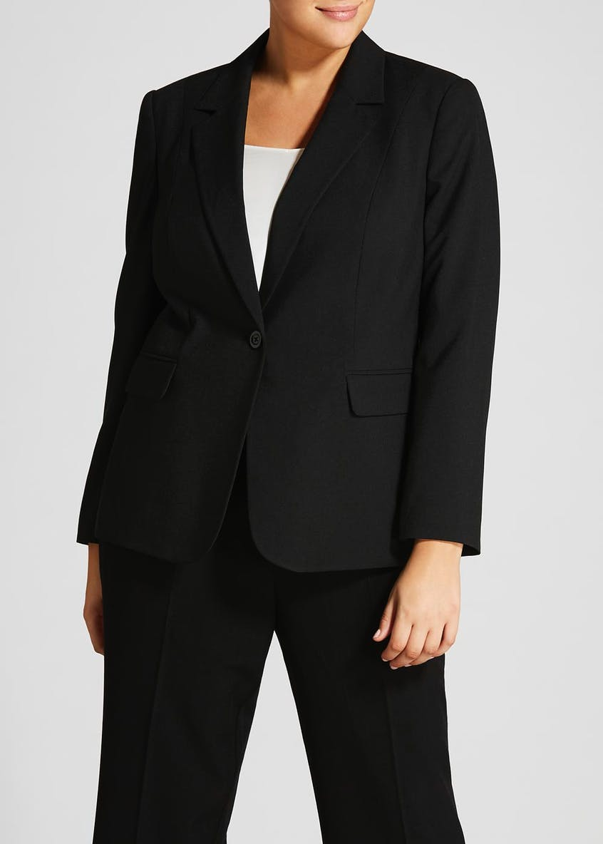Papaya Curve Formal Blazer