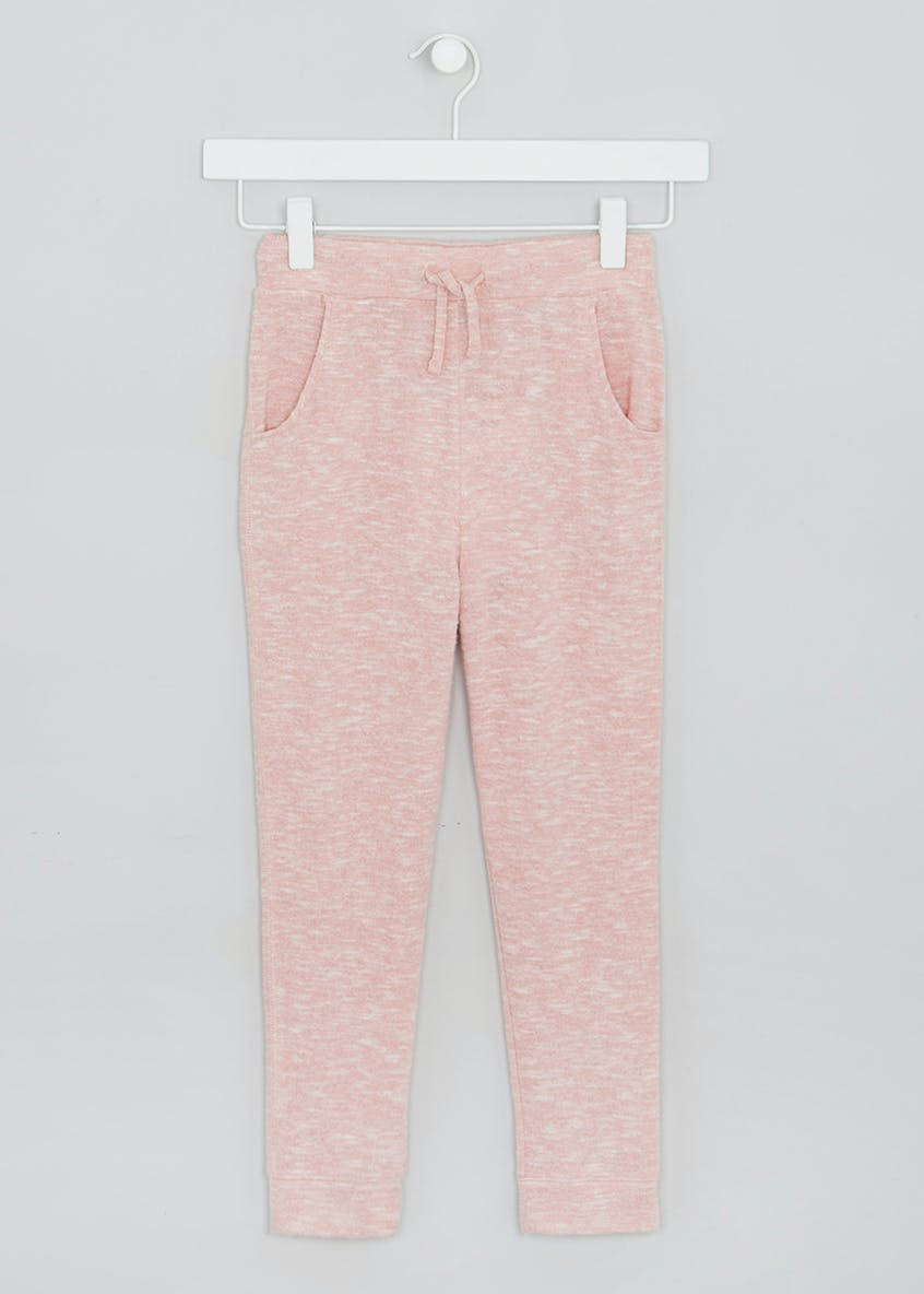 Girls Snit Jogging Bottoms (4-13yrs)