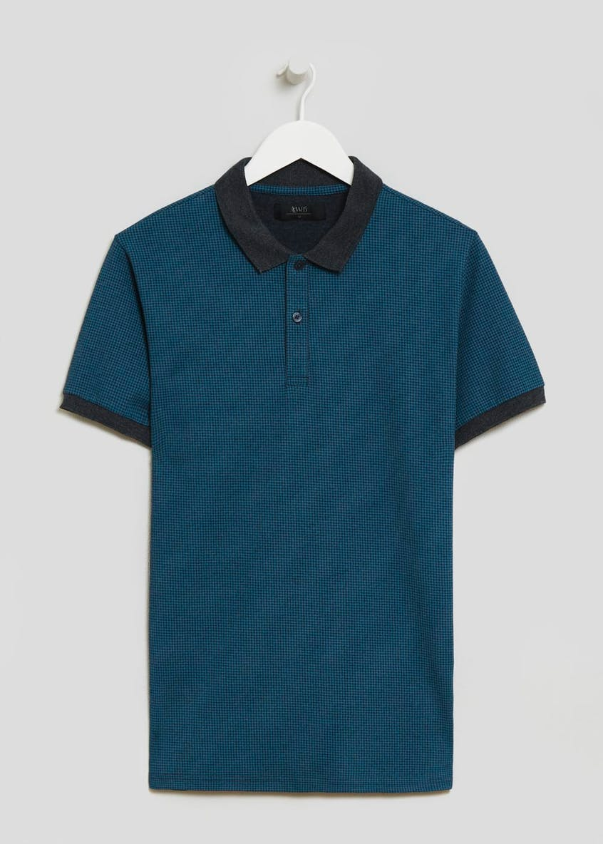 Houndstooth Polo Shirt