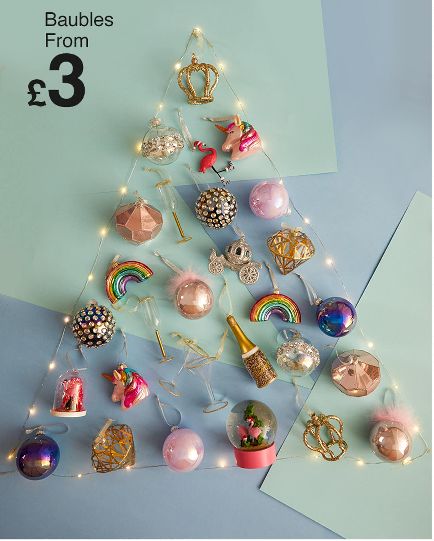 matalan christmas decorations