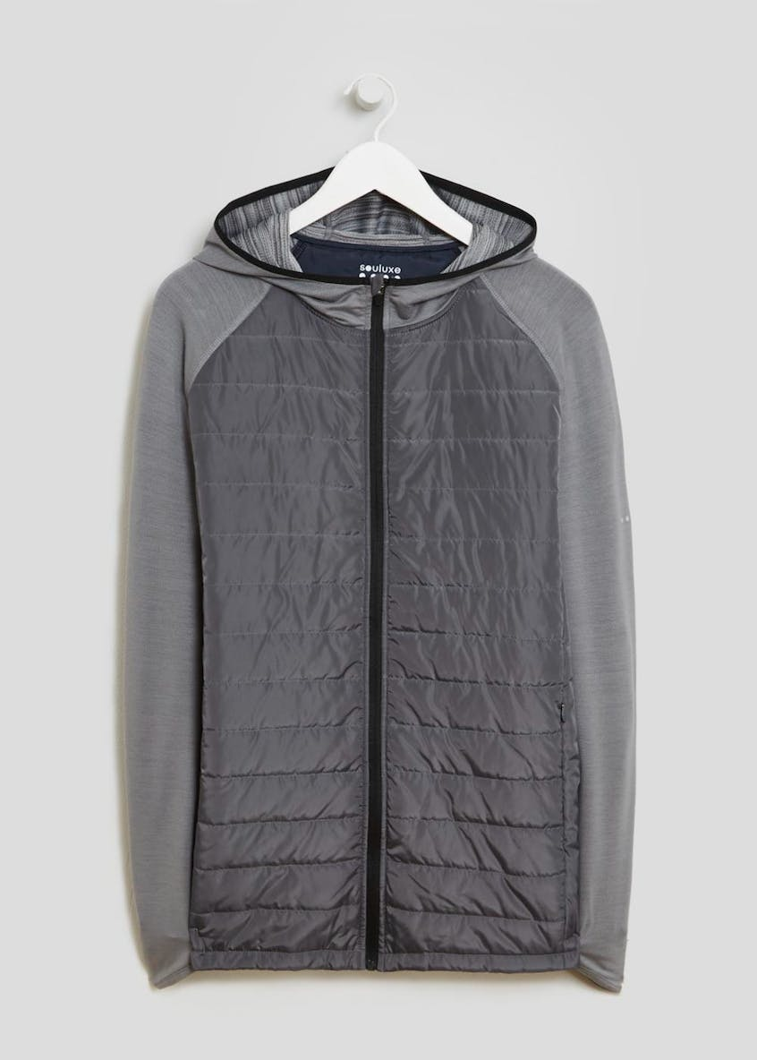 Souluxe Quilted Sports Jacket