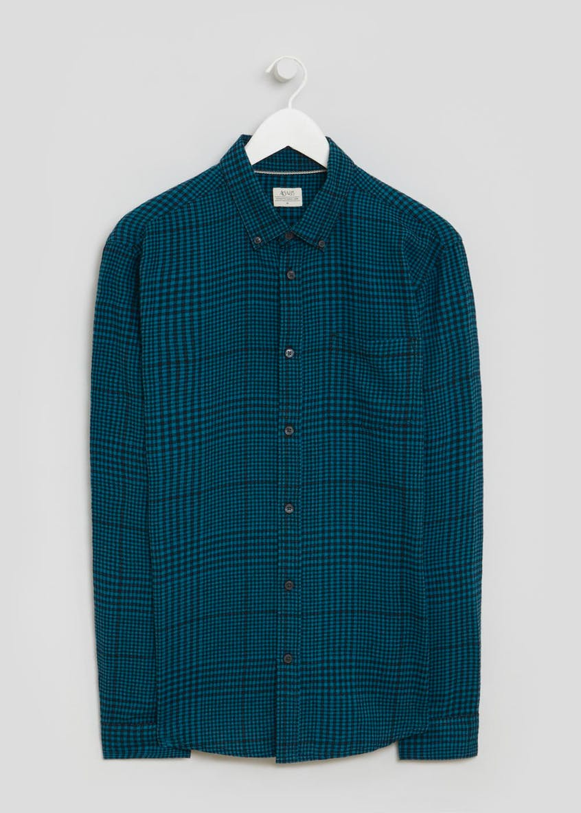 Long Sleeve Prince of Wales Check Shirt