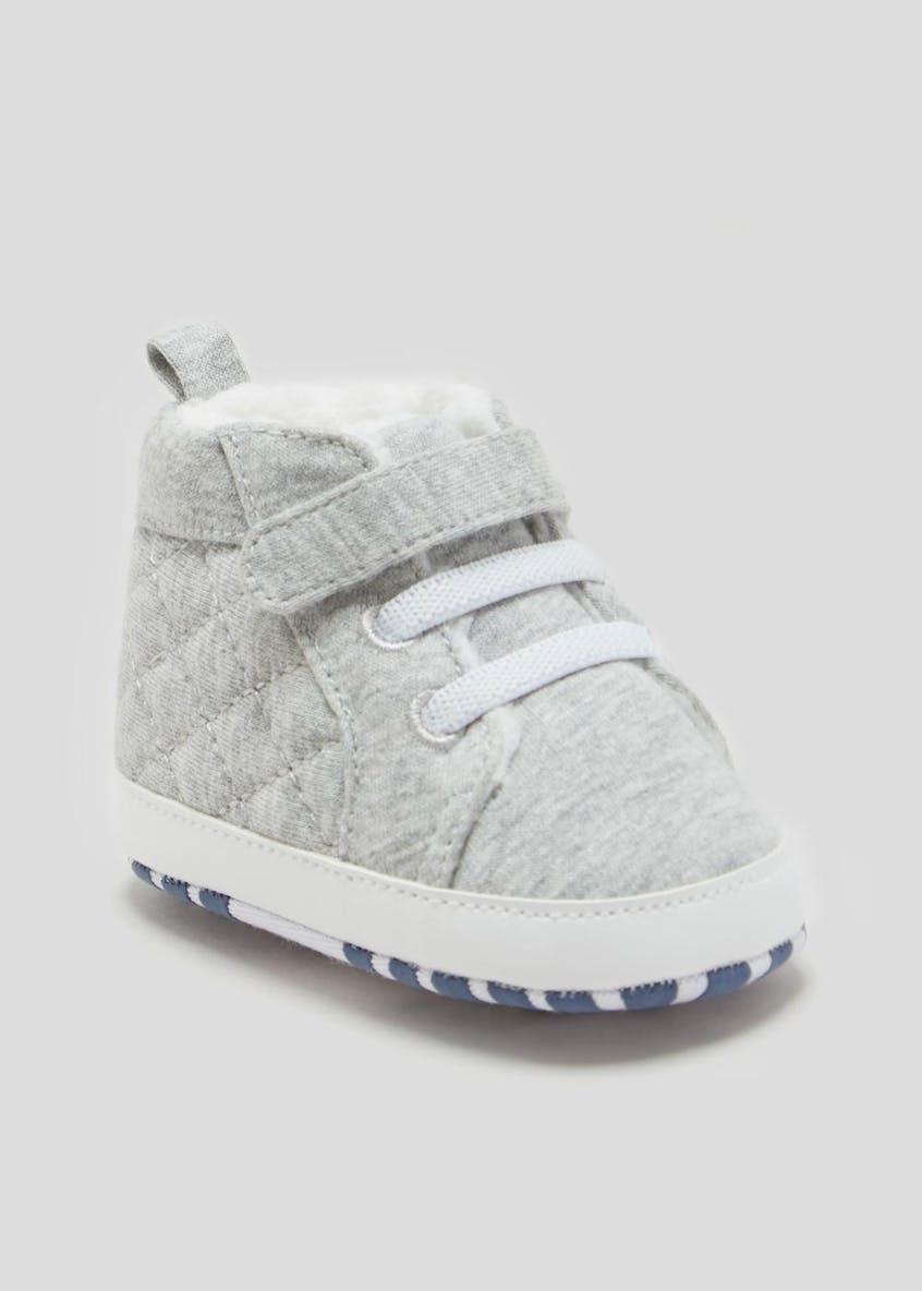 Unisex Soft Sole Hi Tops (Newborn-18mths)