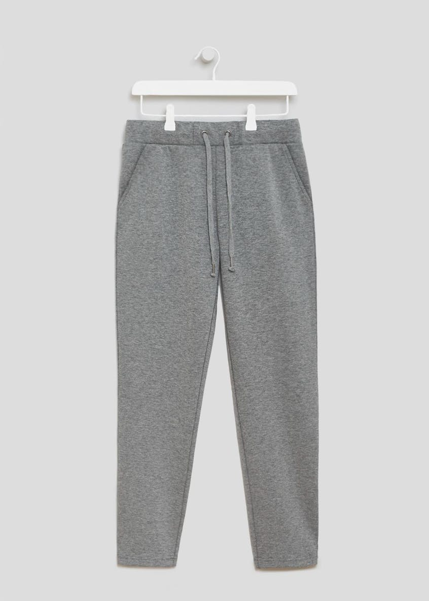 Souluxe Bonded Tapered Jogging Bottoms