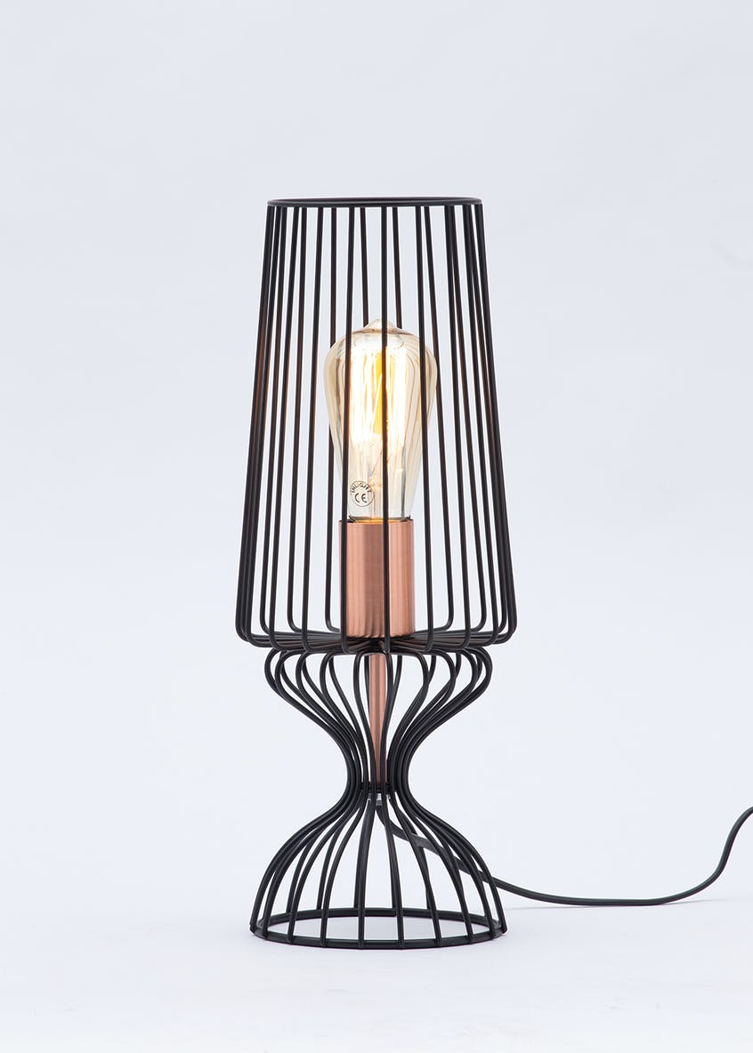 Vincent Wire Table Lamp (H43.5 x W16cm)
