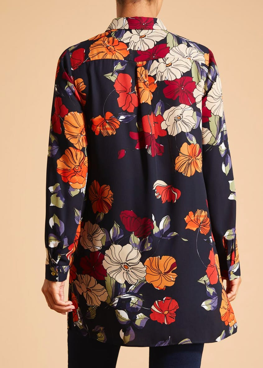 Soon Grace Floral Tunic