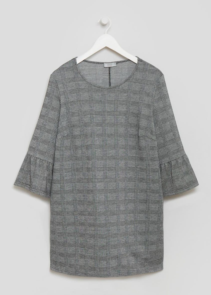 Papaya Curve Check Tunic