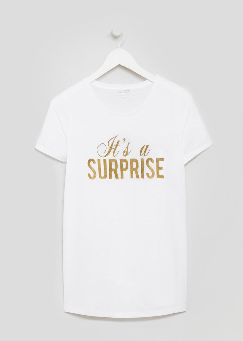 Maternity Surprise Baby Shower T-Shirt