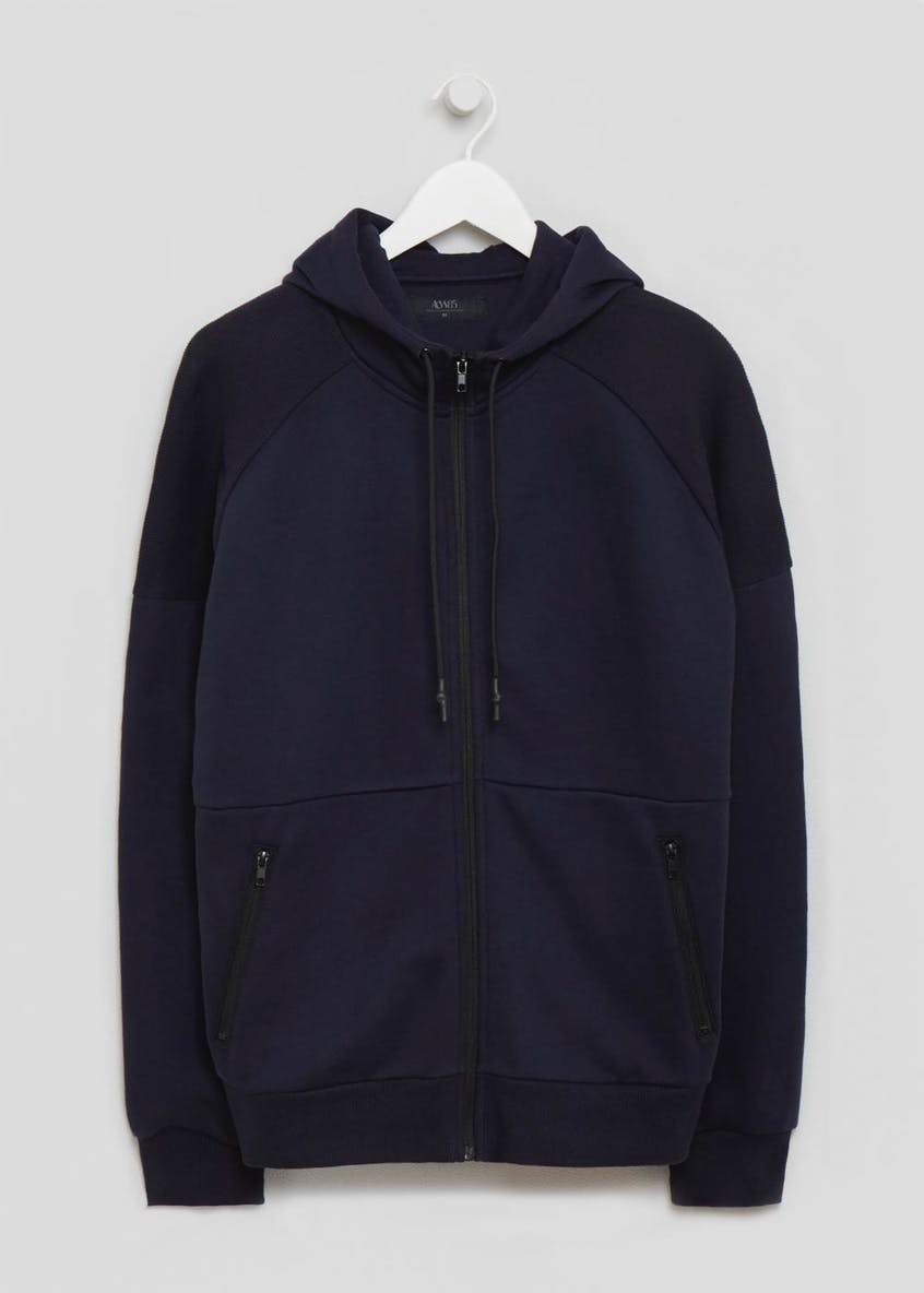 Big & Tall Sporty Panel Hoodie