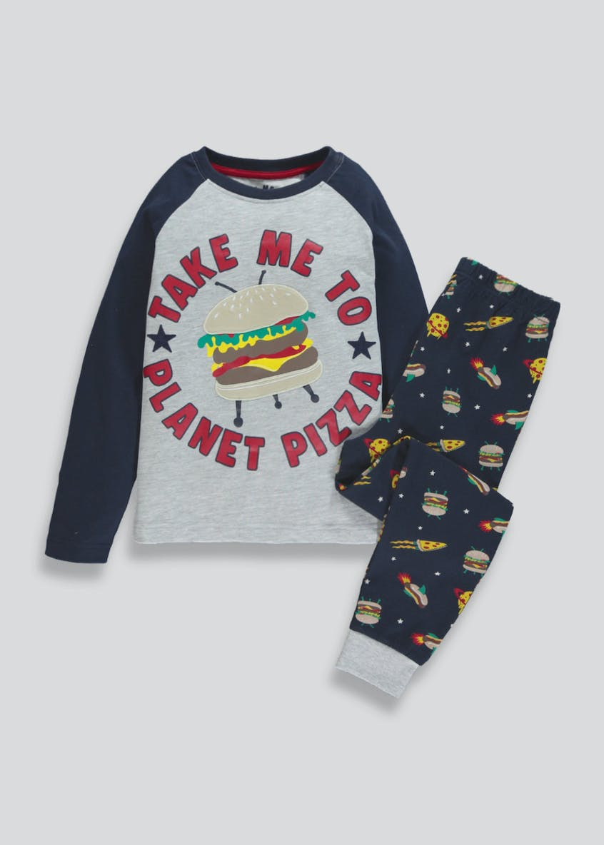 Boys Pizza Pyjama Set (4-13yrs)