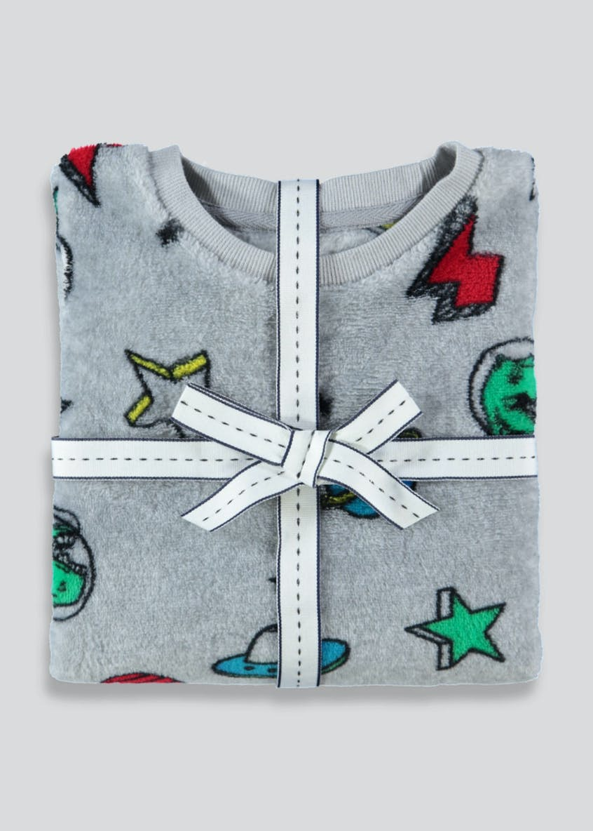 Kids Fleece Space Pyjama Set (12mths-5yrs)